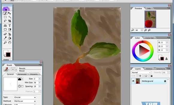 Artweaver Free Ekran Görüntüleri - 4