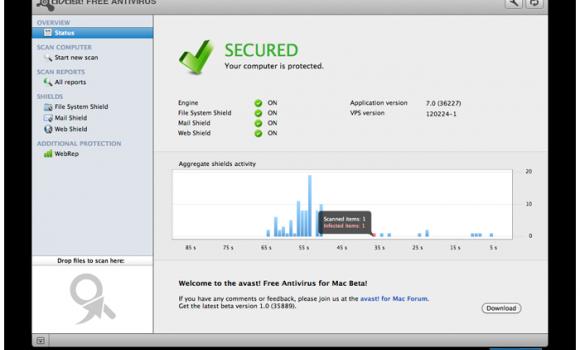 avast! Free Antivirus Ekran Görüntüleri - 5