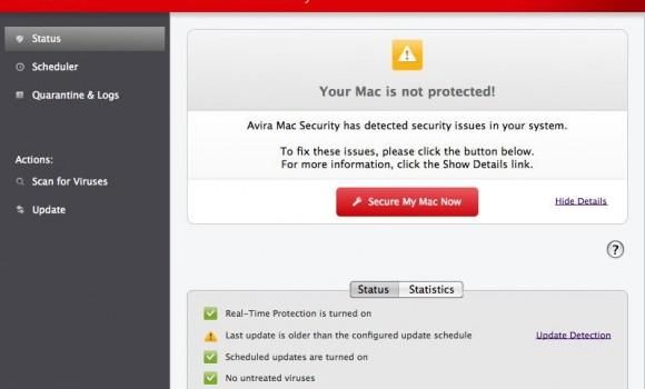Avira Free Mac Security Ekran Görüntüleri - 2