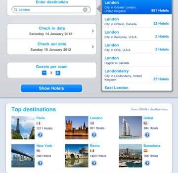 Booking.com Ekran Görüntüleri - 1