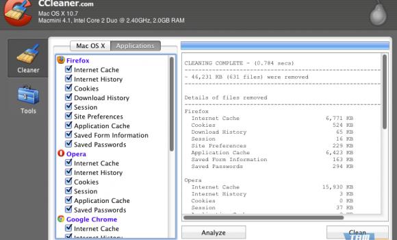 CCleaner Ekran Görüntüleri - 1