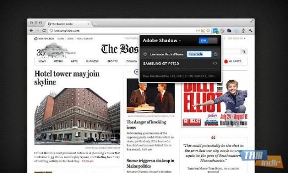 Chrome Adobe Shadow Ekran Görüntüleri - 1