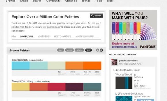 Colourlovers Ekran Görüntüleri - 2