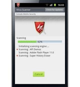 Comodo Mobile Security Ekran Görüntüleri - 2