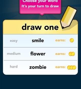 Draw Something Free Ekran Görüntüleri - 1