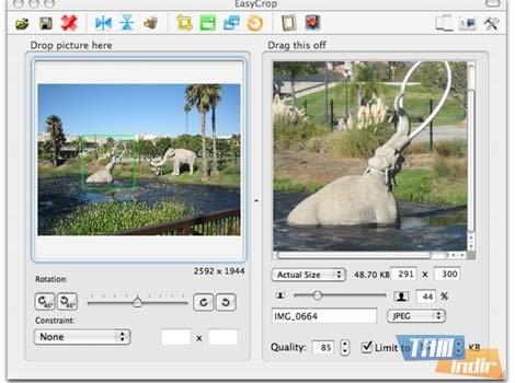 EasyCrop Ekran Görüntüleri - 1