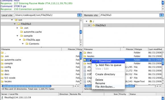 FileZilla Ekran Görüntüleri - 2