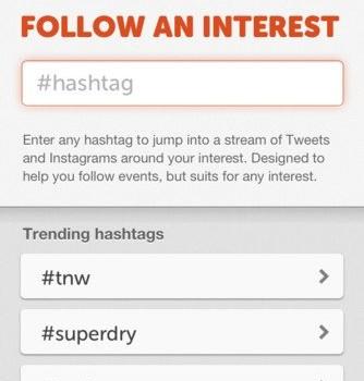 Hashtag App Ekran Görüntüleri - 1