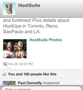 HootSuite Ekran Görüntüleri - 1