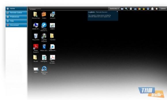 LogMeIn Free Ekran Görüntüleri - 1