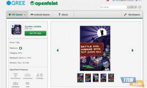 OpenFeint Ekran Görüntüleri - 1