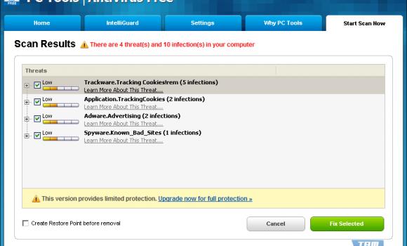 PC Tools AntiVirus Free Edition Ekran Görüntüleri - 1