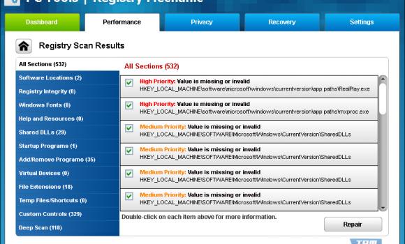 Registry Mechanic Ekran Görüntüleri - 1