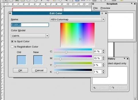 Scribus Ekran Görüntüleri - 2