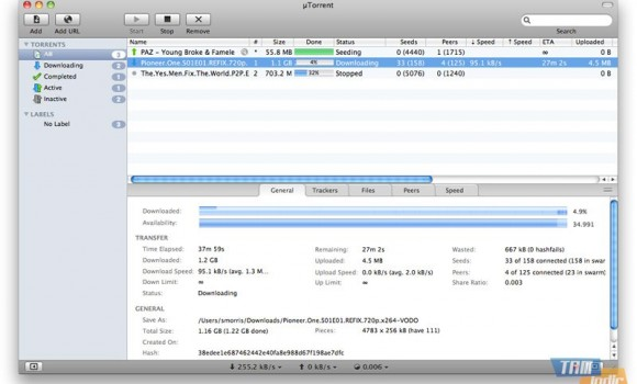 uTorrent Ekran Görüntüleri - 1