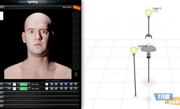 Virtual Lighting Studio Ekran Görüntüleri - 1