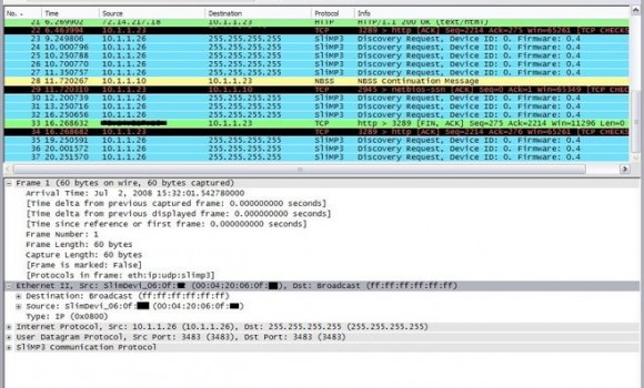 Wireshark Ekran Görüntüleri - 1