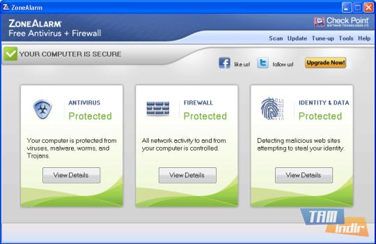 ZoneAlarm Free Antivirus + Firewall Ekran Görüntüleri - 4