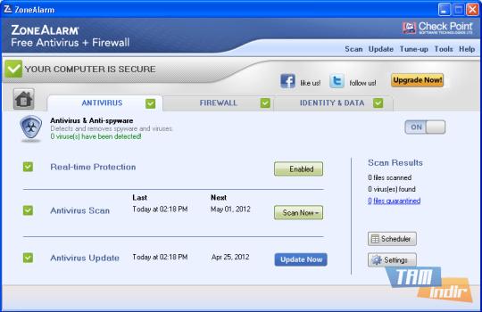 ZoneAlarm Free Antivirus + Firewall Ekran Görüntüleri - 2