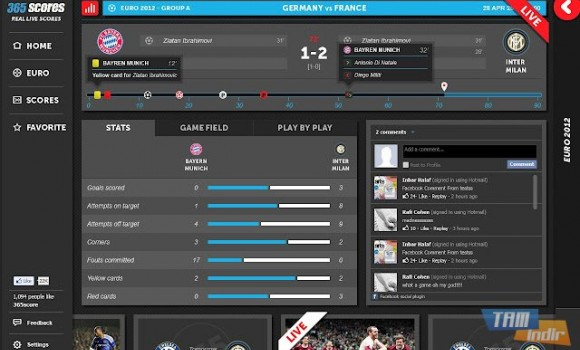 365Scores Ekran Görüntüleri - 4