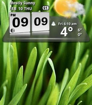 3D Digital Weather Clock Ekran Görüntüleri - 3
