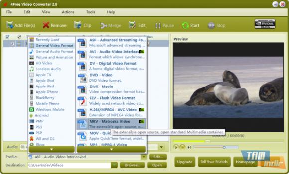 4Free Video Converter Ekran Görüntüleri - 1