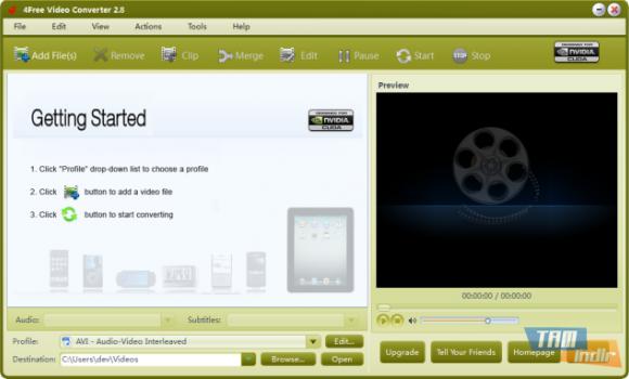 4Free Video Converter Ekran Görüntüleri - 4