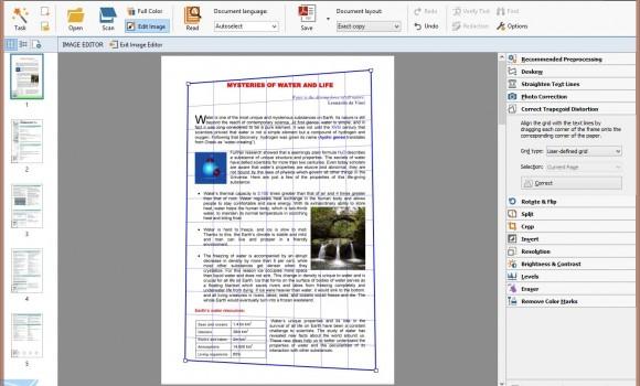 ABBYY FineReader Ekran Görüntüleri - 1