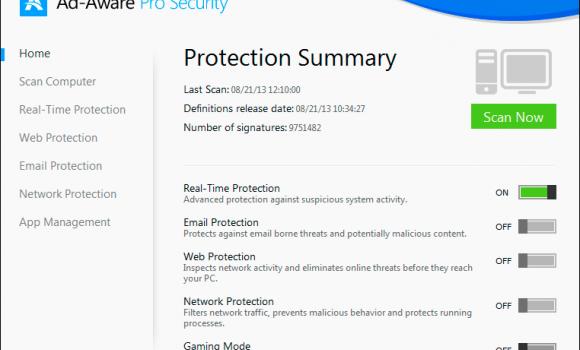 Ad-Aware Pro Security Ekran Görüntüleri - 4
