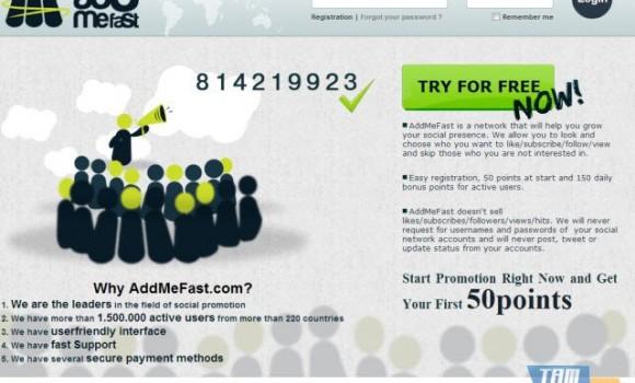 AddMeFast Ekran Görüntüleri - 2