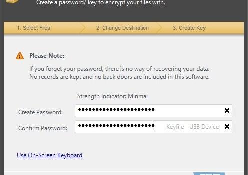 Advanced File Encryption Pro Ekran Görüntüleri - 2