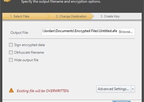 Advanced File Encryption Pro Ekran Görüntüleri - 4