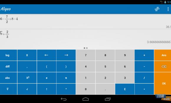Algeo Calculator Ekran Görüntüleri - 3