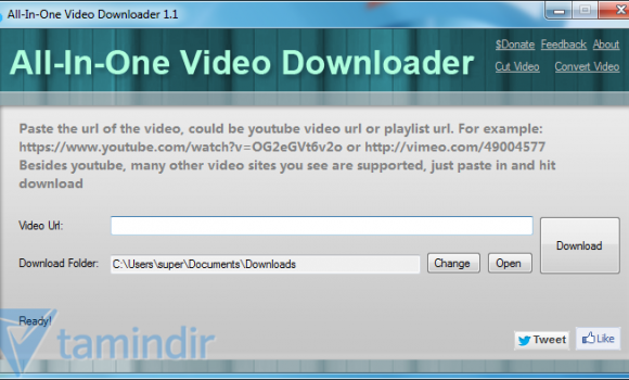 All-In-One Video Downloader Ekran Görüntüleri - 1
