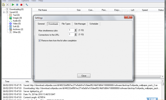 Altarsoft Downloader Ekran Görüntüleri - 2