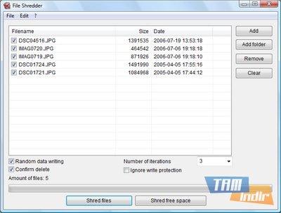 Alternate File Shredder Ekran Görüntüleri - 1