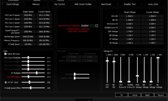 AMD OverDrive Ekran Görüntüleri - 4