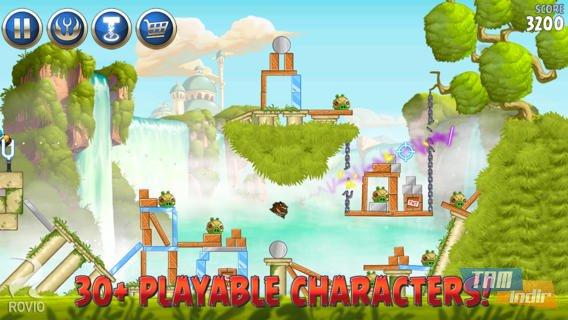 Angry Birds Star Wars 2 Ekran Görüntüleri - 3