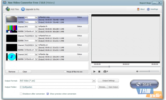 Ann Video Converter Free Ekran Görüntüleri - 3