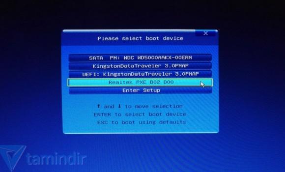AOMEI PXE Boot Ekran Görüntüleri - 2