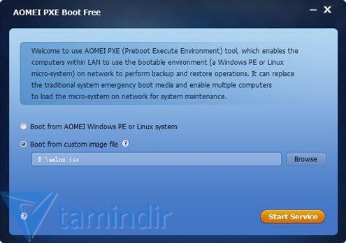 AOMEI PXE Boot Ekran Görüntüleri - 3