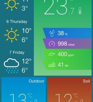 Archos Weather Station Ekran Görüntüleri - 2