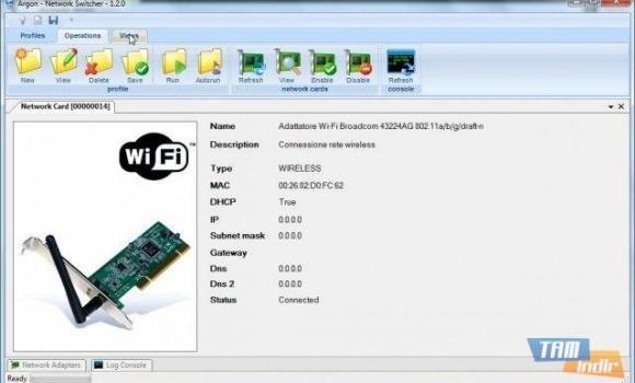 Argon Network Switcher Ekran Görüntüleri - 2