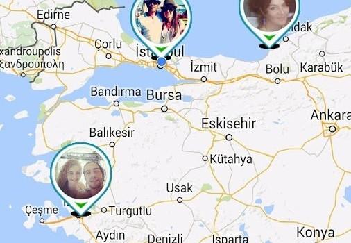 Arkadaş Takip Ekran Görüntüleri - 1