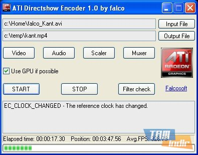 ATI Directshow Encoder Ekran Görüntüleri - 1