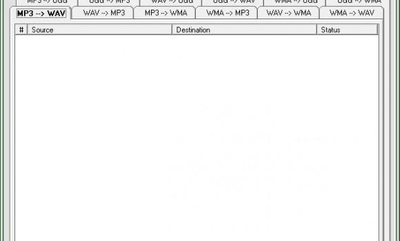 Audio MP3 WAV WMA OGG Converter Ekran Görüntüleri - 1