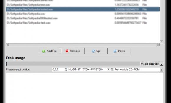 AudioCDburner Ekran Görüntüleri - 1