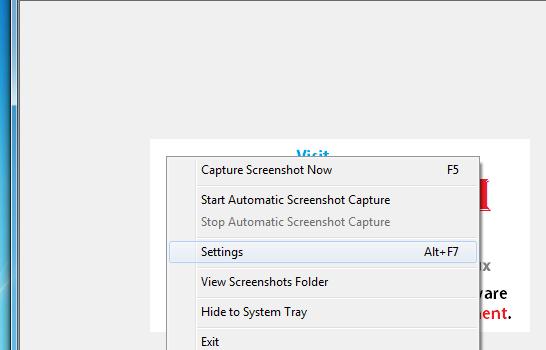 Auto Screenshot Capture Ekran Görüntüleri - 2