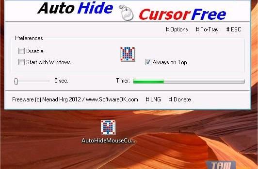 AutoHideMouseCursor Ekran Görüntüleri - 2
