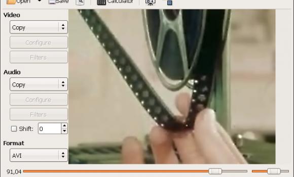 Avidemux Ekran Görüntüleri - 2